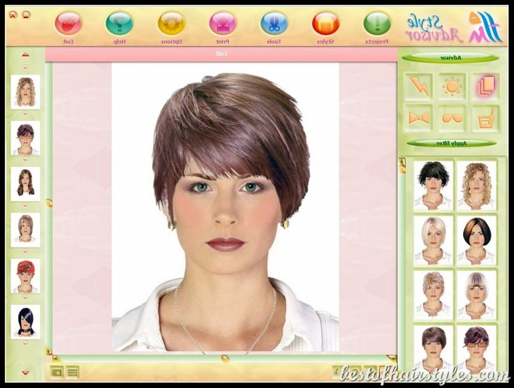 Hair Style Software: 25+ Best Ideas About Virtual Hairstyles On Pinterest