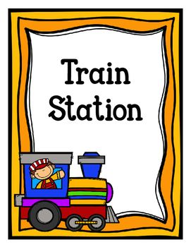 A great pack to make your dramatic play train station even more exciting.Pages Included:-Train Station Sign-Train Schedule Sign-2 versions-Tickets Sold Here Sign-Tickets-Engineer's Log-Engineer Hat Craft Template (black line only)