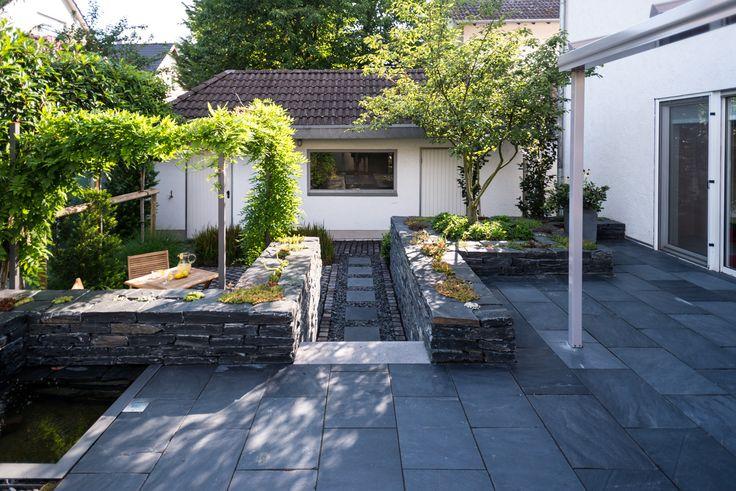 21 best Gartengestaltung images on Pinterest Gardening, Decks and - wasserwand selber bauen garten
