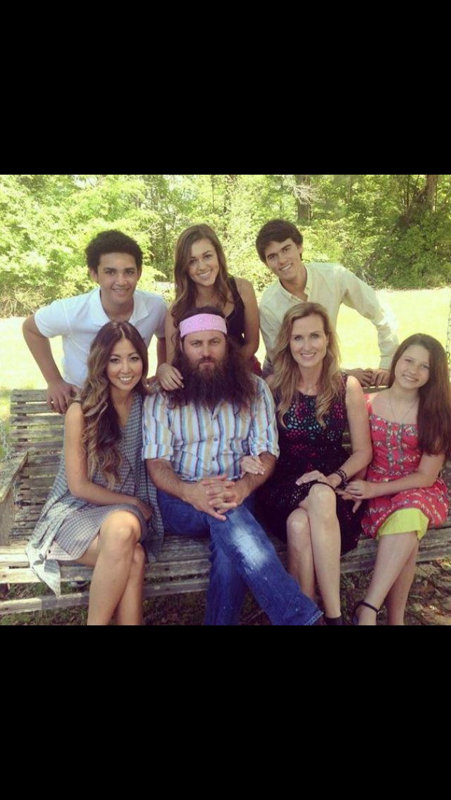 The Robertson Family on Duck Dynasty