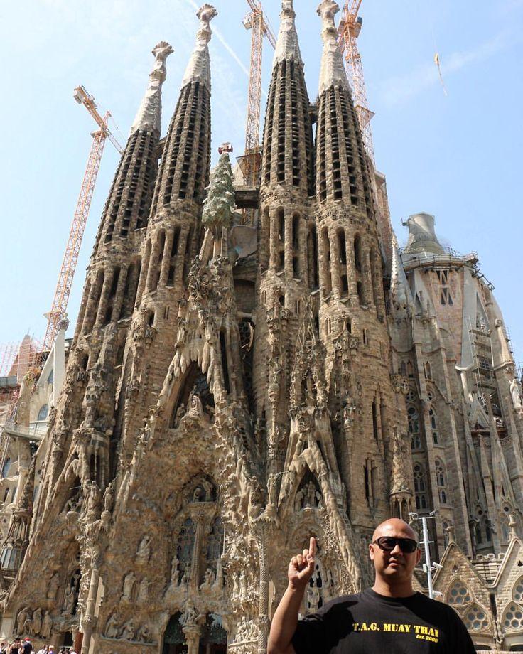 La sagrada familia by antonti gaudi cc world famous for La sagrada familia church