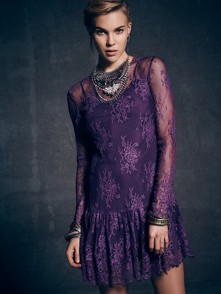 lace dress to impress free people clothing lace dresses party dresses ...