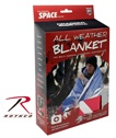 ROTHCO ALL WEATHER SURVIVAL BLANKET - RED