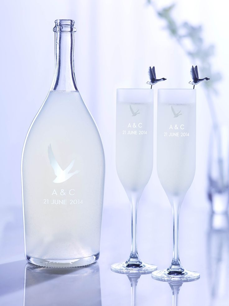 GREY GOOSE Le Fizz, personally engraved for the ultimate celebration. Achieve the extraordinary. #FlyBeyond