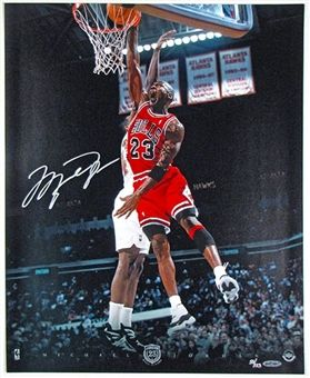 Michael Jordan Autographed 16x20 Photo
