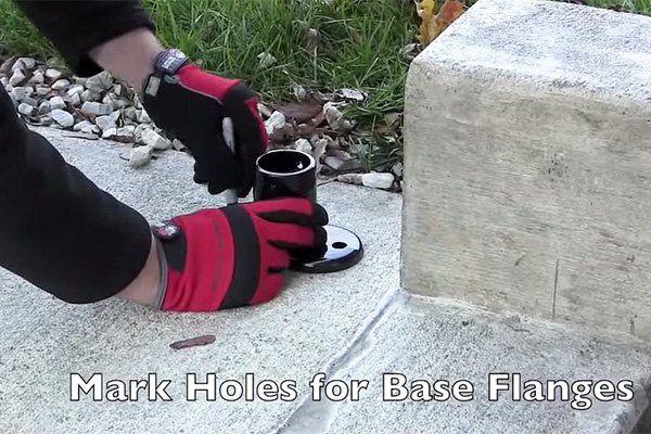 Best Attaching Railing To Concrete Concrete Concrete Steps 400 x 300