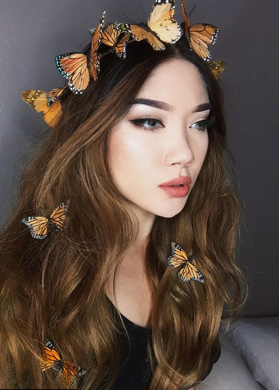 Snapchat Butterfly Crown Costume Hat