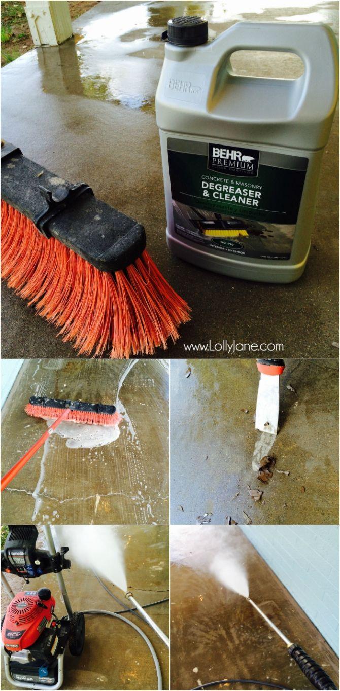 Best 25 clean concrete ideas on pinterest painting - Cleaning interior concrete floors ...