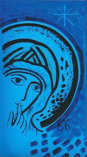 Virgen del Silencio-Kiko Arguello (1986) 1 | by Camino Neocatecumenal | cruzgloriosa.org