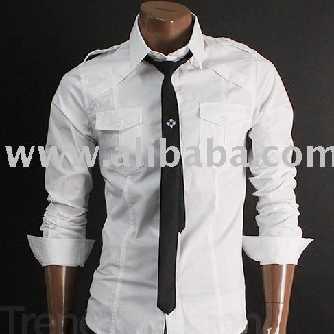Casual mens outfit | Mens Clothing Slim Dress Shirts Photo, Detailed about Mens ...