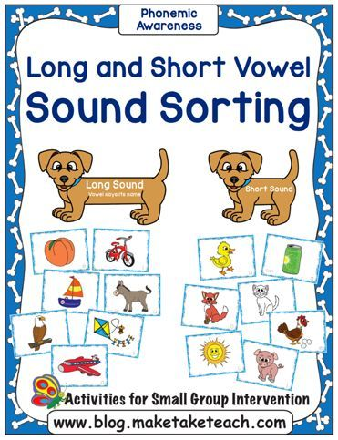 Teaching long and short vowel sounds.