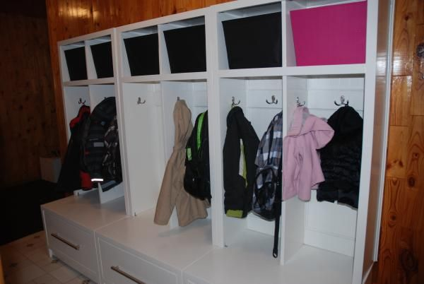 Mudroom Storage Do It Yourself : Braden entryway collection do it yourself home projects