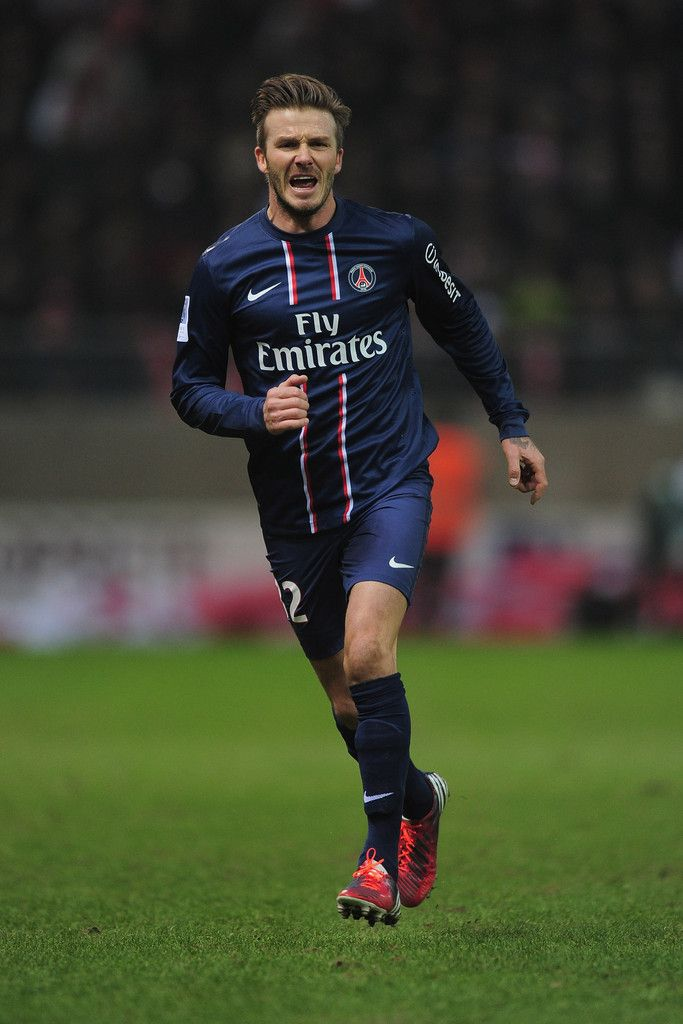 David Beckham Photos - Stade de Reims Champagne v Paris Saint-Germain FC - Ligue 1 - Zimbio