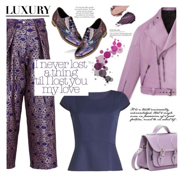 """Purple Philosophy"" by imurzilkina ❤ liked on Polyvore featuring Dries Van Noten, HUGO, Etiquette, Rituel de Fille, purplepower, internationalwomensday and pressforprogress"