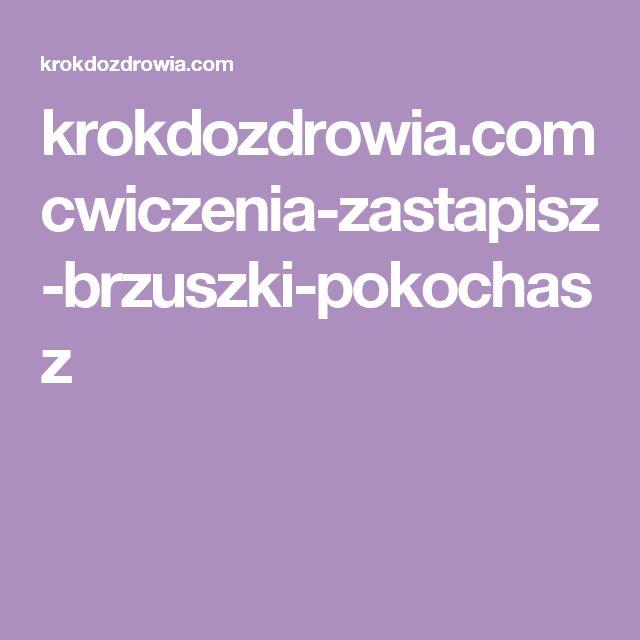 krokdozdrowia.com cwiczenia-zastapisz-brzuszki-pokochasz