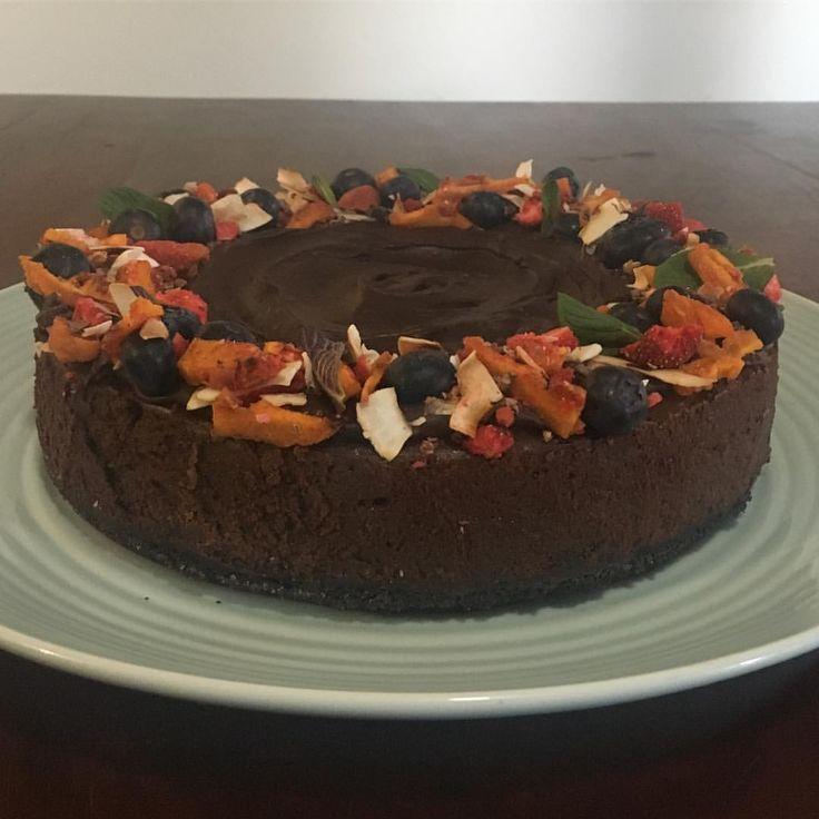 "19 Likes, 4 Comments - Yvette McKenzie (@yvette_amelia) on Instagram: ""Chocolate Cheesecake for Daniel's official birthday dinner tonight 👌🏽👌🏽#thefestivalofdan…"""