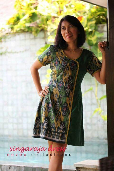 formal batik dress