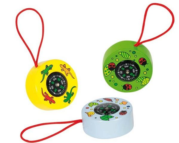 Goki Compass Great for adventure play be it fairies, pirates or knights and dragons #limetreekids