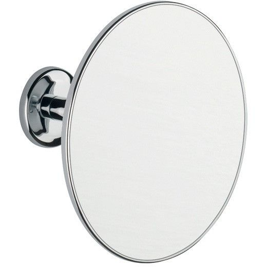 BA Wall Mounted Adjustable Round 2X Cosmetic Makeup Magnifying Mirror - Brass
