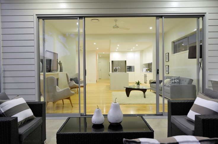 Replica Santa and Cole floor lamp, As seen in QLD display home, designed by Kalka   www.kalka.com.au