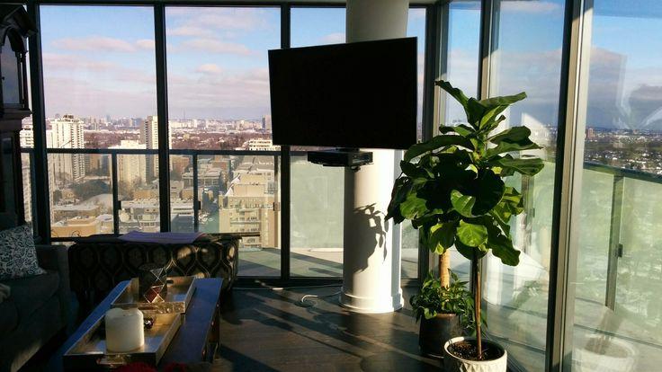 TV wall mount installation & audio video installation