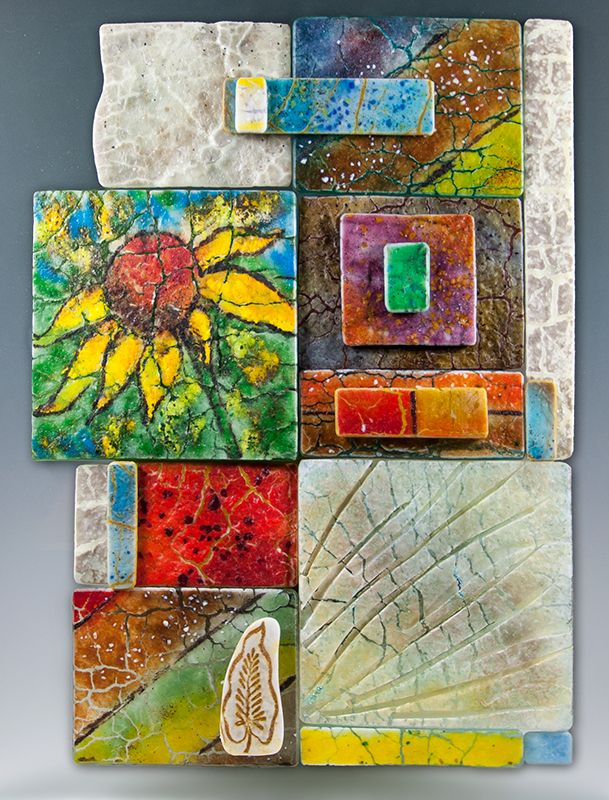 17 Best Images About Ceramic And Fused Glass Wall Art On