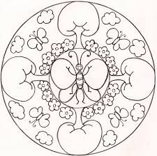 Resultado de imagen para mandalas de mariposas para colorear en pdf