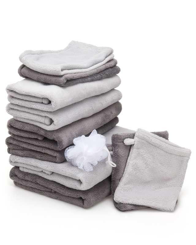Kontrast Quick Dry Handtuch-Set, 10tlg.