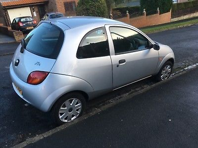 Ford Ka Silver  L Mot Fail Spares Or Repairs Salvage Cars Ford And Cars