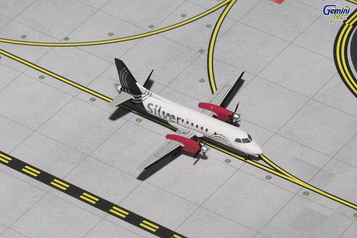 GeminiJets SILVER AIRWAYS SAAB 340 N344AG GJSIL1369 1:400