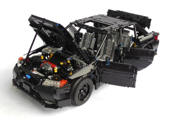 Lego technic Subrau Impreza WRX STi