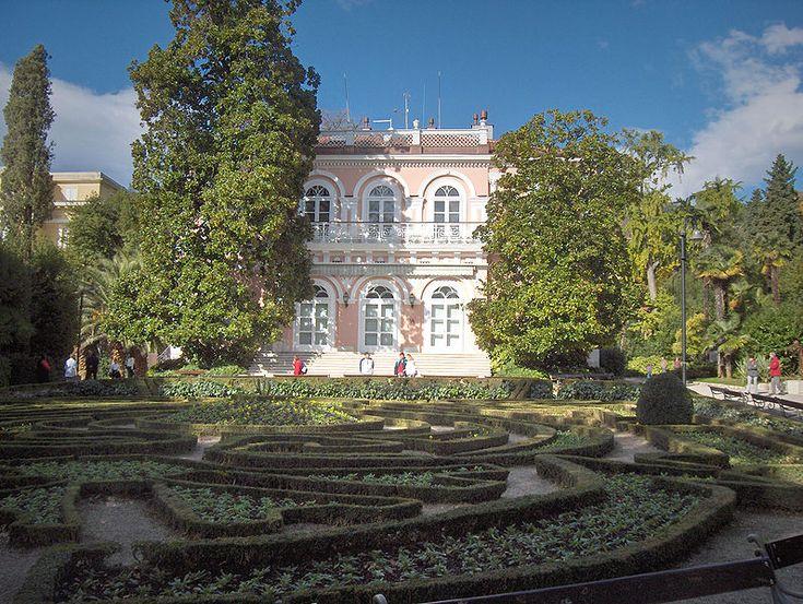 Villa Angiolina surrounded by the park Angiolina #Opatija #croatia  www.casademar.com