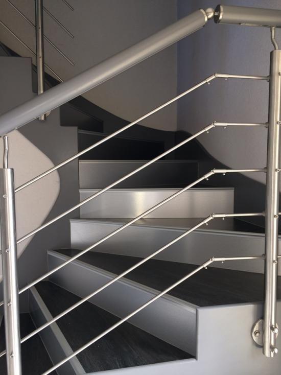 Rénovation marche d'escalier bèton 68440 ESCHENTZWILLER