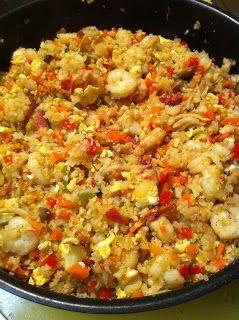 The Accidental Chef: Cauliflower Fried Rice!