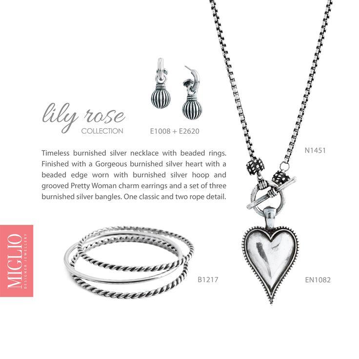 Sleek in burnished silver.