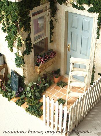 miniture house*外観 : natural色の生活~handmade家具