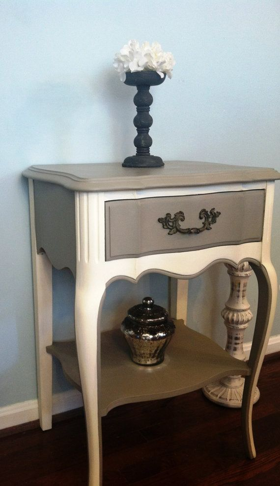 SaleFrench Provincial End/Night Stand by SaundersDesign on Etsy