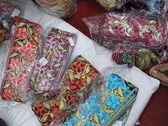 Parsi Gara embroidery border for Saree