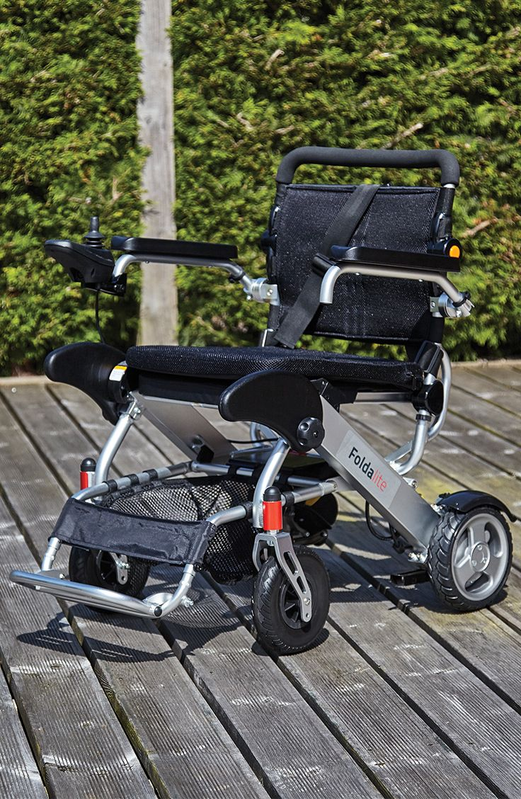 Possessing a maximum range of 9 miles the Foldalite Pro Electric Wheelchair is the perfect companion for days out. Easy to put in the boot of your car this lightweight chair folds down into a compact size in seconds all at the touch of a button!