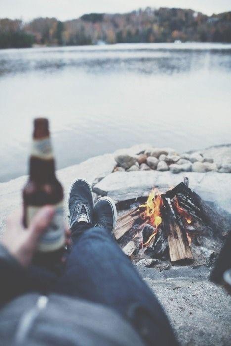enjoying the outdoors//