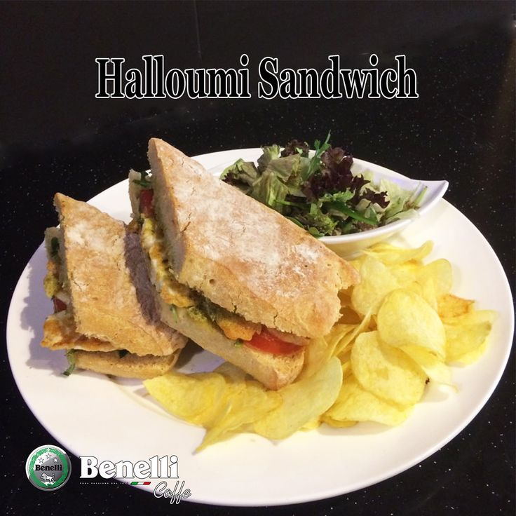 The perfect Halloumi Sandwich involves grilled halloumi, rucola leaves black olives and pesto sauce are all great.  We welcome you to Benelli Caffe for high quality food and environment.  Call for More Detail Tel : 042434968 Mob/WatsApp : 0505544993 Email: info@benellicaffe.com  #dubai #downtown #caffe #cafe #resturenents #burjkhalifa #abudhabi #dubaimall #food #bestdeals #cocktails #refreshment #bikes #membership #discount #food #breakfast #dealoftheday #happyhour #qualityfood #pizza…