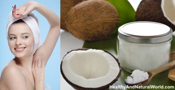 How to Easily Make Your Own Natural Coconut Oil Deodorant