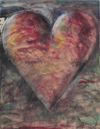 'The Minnesota Watercolor' (1983) by Jim Dine