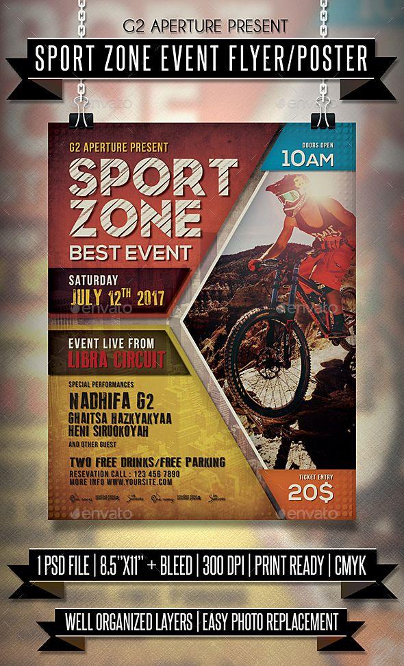 289 best Sport Flyer Templates images on Pinterest Flyer - motocross sponsorship resume