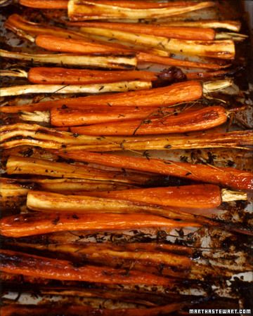 Maple-Glazed Parsnips And Carrots | Recipe | Carrots, Bacon and Maple ...