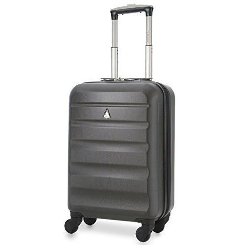 WEEKEND SUMMER VACATIONS SUITCASE FLYBE CABIN BAG SIZES 4 WHEEL FREE UK DELIVERY