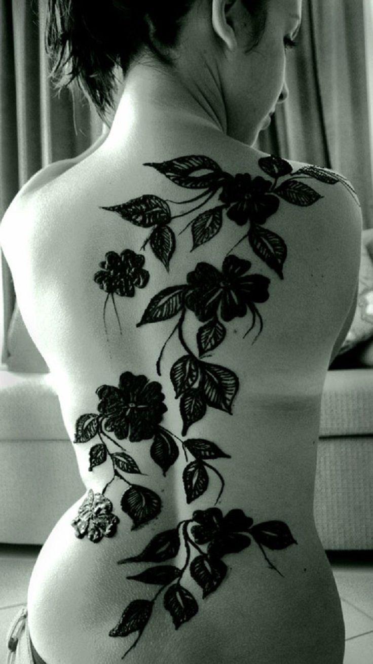 Henna Back Tattoo Drawing: 8 Best Henna Back Designs Images On Pinterest