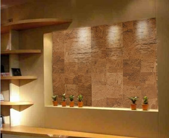 Cork Flooring Works Perfectly On Walls Too Cork Wall
