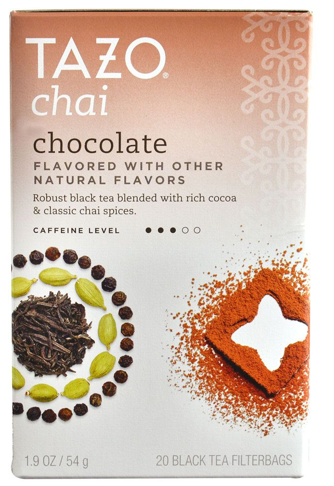 Tazo Chai Tea Chocolate, 4.19 for 20 bags