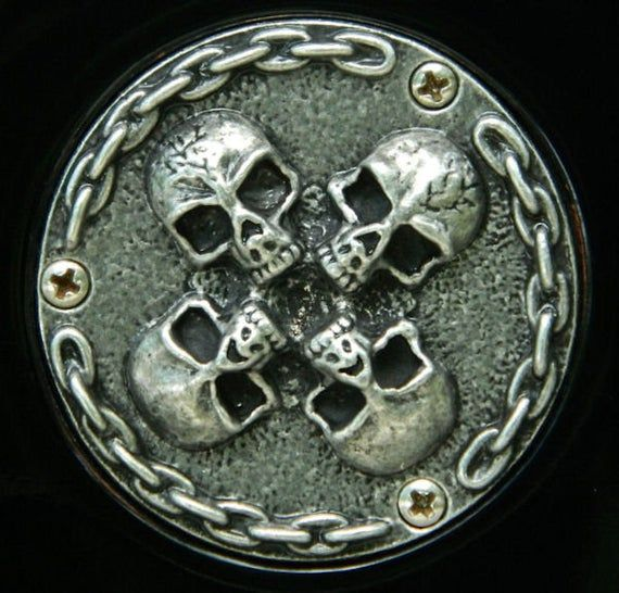 Guitar Parts Pewter Hardware Skull Back Plate For Gibson Les Paul Toggle Switch Cavity Skull Bones Guitar Parts Gibson Les Paul